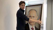 Портрет Путина в лифте: интервью с автором вирусного видео из московской многоэтажки