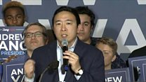 Andrew Yang ends his 2020 campaign