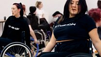 Winchester chums role up wheelchair dance class thumbnail