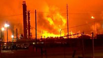 Fifth largest refinery in US catches fire