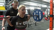 The rise of women powerlifting in NI