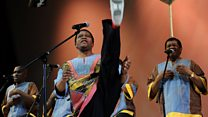 Shabalala yashinze umurwi 'Ladysmith Black Mambazo' asize izina
