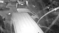 'Tornado' caught on CCTV