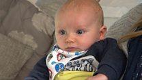 'Seeing someone cradling a newborn is traumatic'
