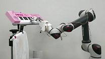 Robot hand shows gentle touch and other news