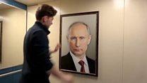 Путин и лифту: Како Руси реагују на слику председника