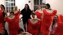 The 'burlesque babies' learning some self love