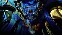 Cathedral goes on a journey through space