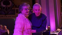 Couple dance again 68 years on from first date