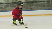 Toddler hockey star and other stories you might have missed