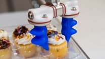 WATCH: A robot safely picking up pastries and cakes
