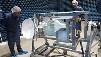 UK antenna to improve space station communications