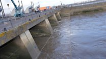Storm Dennis: The barrage protecting Cardiff