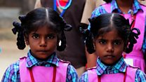 Seeing double: The Indian town filled with twins
