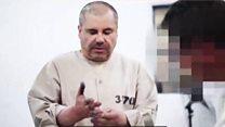 Rare video of El Chapo