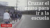 Estas hermanas mexicanas cruzan la frontera cada día para ir al colegio en Estados Unidos.