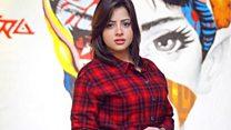 حملة لدعم الممثلة منى فاروق