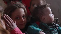 Desperate Syrians on the move in search of safety