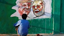 How Trump got his wall - in India
