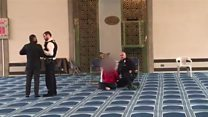 Man arrested over London Central Mosque stabbing