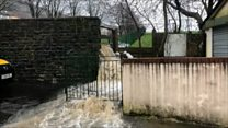 'Really upsetting' as homes flooded twice in days