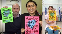 Poster project spreads love to NHS staff