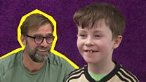 'Cheeky' schoolboy letter gets personal Klopp reply