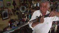 ブラジルの「ラストサムライ」 唯一の刀鍛冶