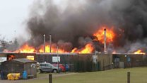 Major fire at primary school in Highlands