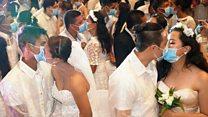 كيف يبدو حفل الزفاف في زمن فيروس كورونا؟
