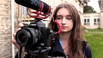 Movies made by girl, 15, used by police