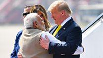 ترامب يزور الهند