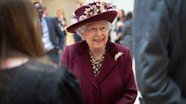 The Queen praises 'tireless work' of MI5 agents