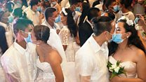 肺炎疫情:疫情时期的婚礼