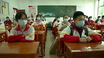 Back to school for some in China after coronavirus
