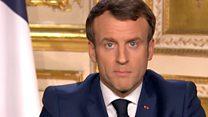 Macron: 'We are at war'