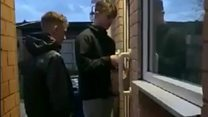 Teenagers deliver care packages to elderly neighbours