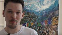 Call that art? Peter Kettle makes work from litter