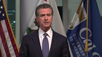 Coronavirus: California governor orders all residents to stay at home