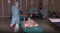 Inside an Italian ICU