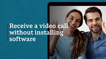 How to receive a video call without apps