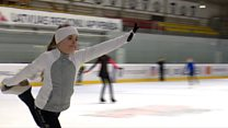 Teen figure skater's Special Olympic dreams