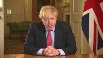 Boris Johnson: 'You must stay at home'