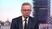 Gove: Government to review new measures at Easter