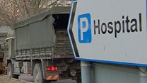 Army deliver equipment to NHS