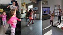 Joe Wicks keeps children fit with online PE
