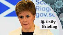 Briefing on coronavirus in Scotland