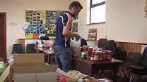 Young farmers set up food drop for the vulnerable