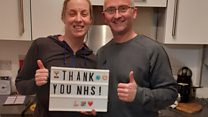 Scotland claps in support of NHS workers