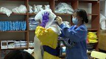 「怖い気持ちはある」 韓国のICUをBBCが取材、新型コロナウイルス
